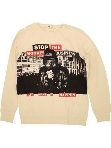Camiseta de manga larga niño H&M beige 14 años invierno #1459414_1