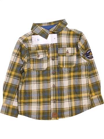 Camisa de manga larga niño F&F marrón 3 años invierno #1459528_1
