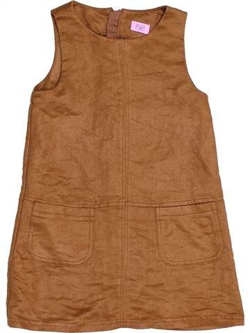 Vestido niña F&F marrón 4 años invierno #1459533_1