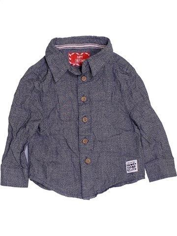 Camisa de manga larga niño PRIMARK azul 12 meses invierno #1459562_1