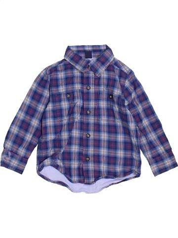 Camisa de manga larga niño GAP azul 3 años invierno #1459582_1