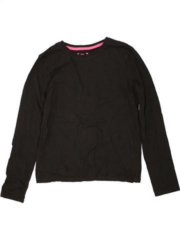 Camiseta de manga larga niña PRIMARK negro 11 años invierno #1459666_1