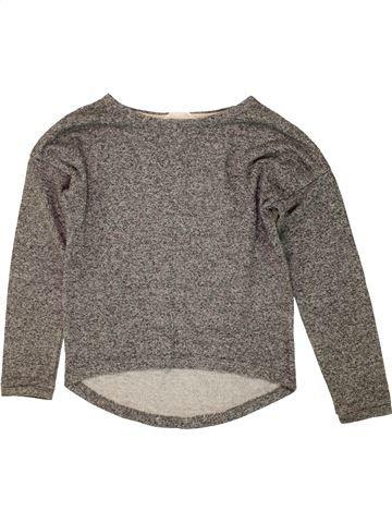 jersey niña H&M marrón 10 años invierno #1459765_1
