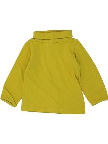Camiseta de cuello alto niña JBC marrón 3 meses invierno #1460015_1