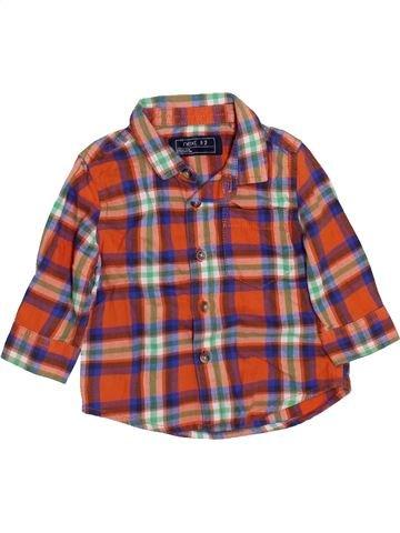 Chemise manches longues garçon NEXT marron 6 mois hiver #1460055_1