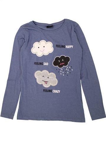 Camiseta de manga larga niña PAGE ONE YOUNG azul 14 años invierno #1460220_1