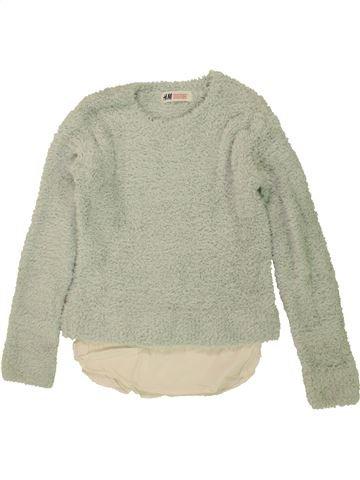 jersey niña H&M beige 10 años invierno #1460317_1