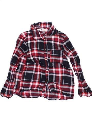 Camisa de manga larga niño H&M marrón 6 años invierno #1460343_1