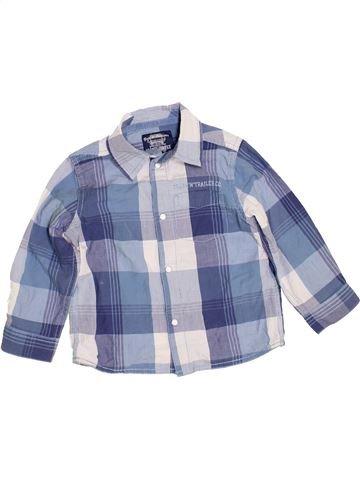 Chemise manches longues garçon MOTHERCARE gris 3 ans hiver #1460361_1
