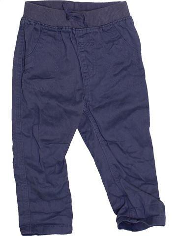 Pantalón niño GEORGE azul 9 meses invierno #1460461_1