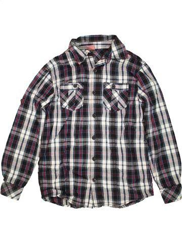 Chemise manches longues garçon YFK gris 12 ans hiver #1460674_1