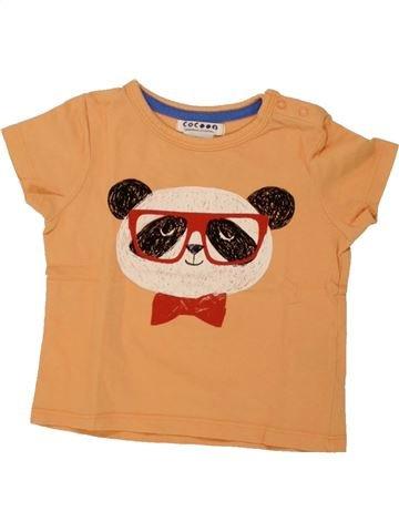 Camiseta de manga corta niño LA REDOUTE CRÉATION naranja 9 meses verano #1461075_1