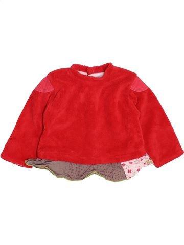 jersey niña BERLINGOT rojo 18 meses invierno #1461198_1