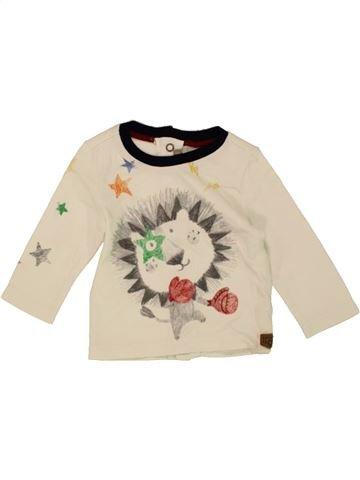 T-shirt manches longues garçon CATIMINI bleu 3 mois hiver #1461415_1
