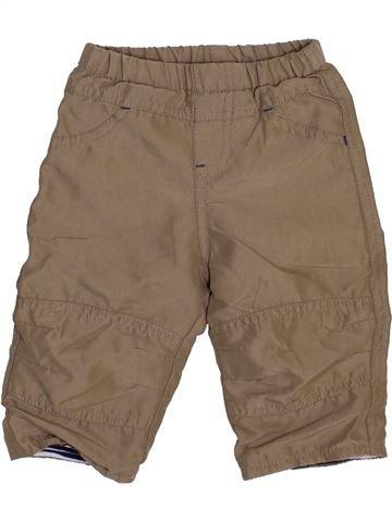 Pantalon garçon TOPOLINO marron 6 mois hiver #1461472_1