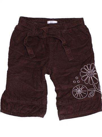 Pantalón niña HEMA marrón 6 meses invierno #1461615_1
