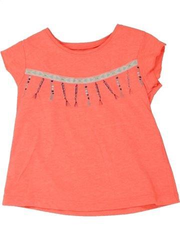 T-shirt manches courtes fille GENERATION Z rose 2 ans été #1462359_1