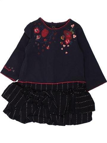 Robe fille CATIMINI noir 6 mois hiver #1462480_1