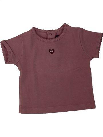 Camiseta de manga corta niña LILI GAUFRETTE violeta 6 meses verano #1462589_1