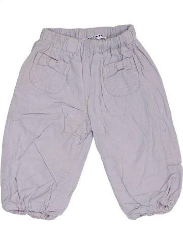 Pantalon fille LA REDOUTE CRÉATION gris 12 mois hiver #1462679_1