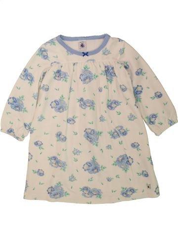 Chemise de nuit fille PETIT BATEAU beige 3 ans hiver #1462697_1