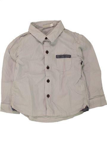 Camisa de manga larga niño NATALYS gris 2 años invierno #1463032_1