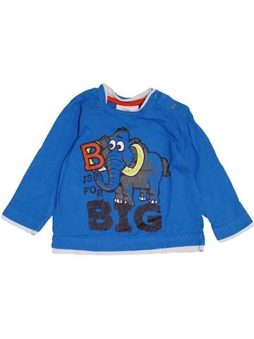 T-shirt manches longues garçon TOPOLINO bleu 12 mois hiver #1463178_1