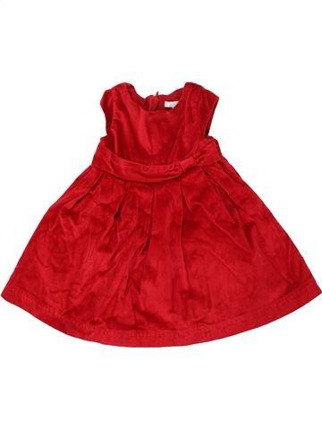Robe fille OKAIDI rouge 18 mois hiver #1463622_1
