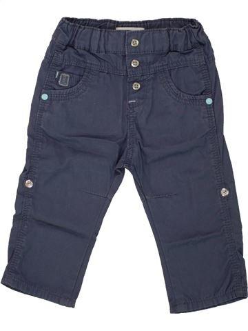 Pantalon garçon OKAIDI bleu 6 mois hiver #1463724_1