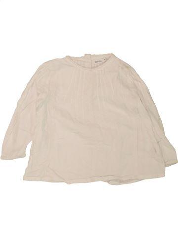 Blusa de manga larga niña BOUT'CHOU azul 18 meses invierno #1463742_1