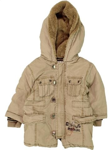 Manteau garçon KIABI marron 12 mois hiver #1463748_1
