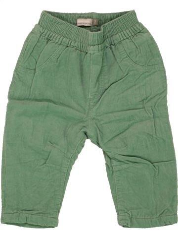 Pantalon garçon CATIMINI vert 3 mois hiver #1463753_1
