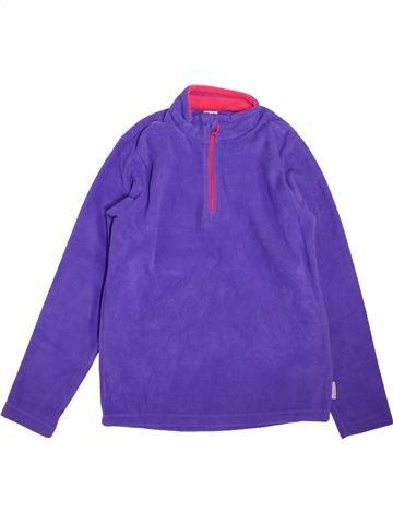 jersey niña QUECHUA violeta 12 años invierno #1464003_1