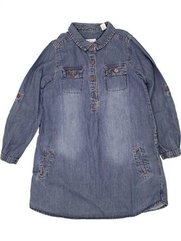 Robe fille OKAIDI bleu 6 ans hiver #1464045_1