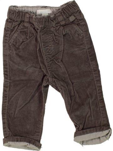 Pantalón niña OBAIBI marrón 6 meses invierno #1464099_1