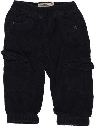 Pantalon garçon TAPE À L'OEIL noir 6 mois hiver #1464110_1