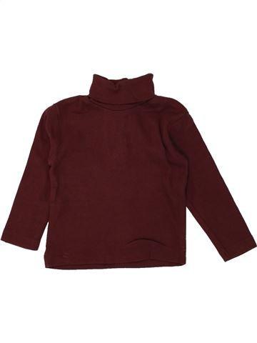Camiseta de cuello alto niña 3 SUISSES marrón 6 meses invierno #1464131_1