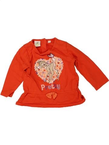 Sweat fille DISNEY rouge 6 mois hiver #1464159_1