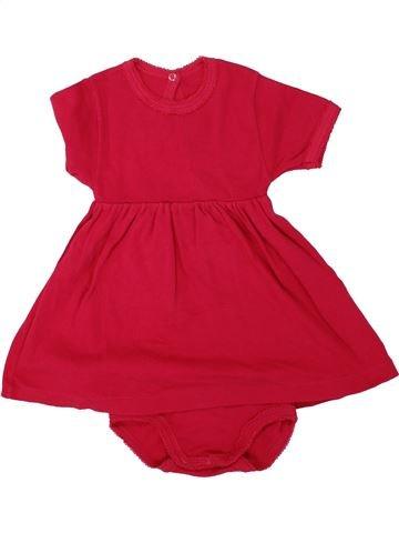 Robe fille PETIT BATEAU rouge 18 mois été #1464290_1