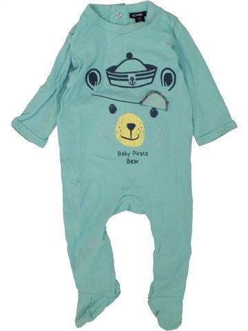 Pyjama 1 pièce garçon KIABI vert 3 mois été #1464351_1