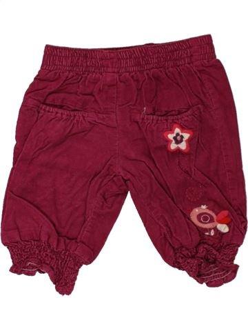 Pantalón niña HEMA rojo 3 meses invierno #1465812_1