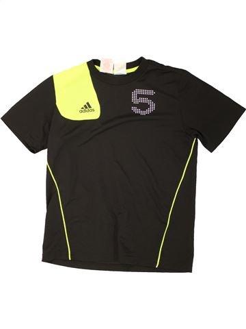 Camiseta deportivas niño ADIDAS negro 12 años invierno #1465966_1