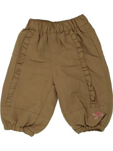 Pantalón niña NEWBORN marrón 3 meses invierno #1466175_1