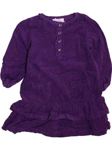 Robe fille TOPOMINI violet 2 ans hiver #1466201_1