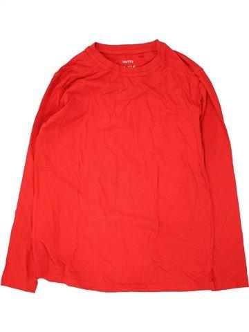 T-shirt manches longues garçon YFK rouge 12 ans hiver #1466756_1