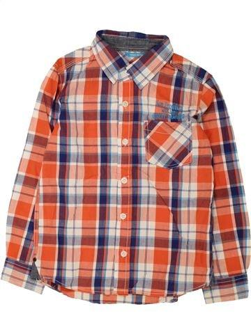 Camisa de manga larga niño HEMA marrón 6 años invierno #1466851_1