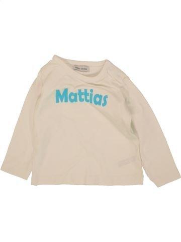 Camiseta de manga larga niño HEMA azul 6 meses invierno #1466987_1