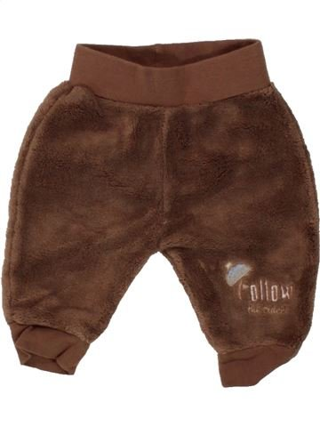 Pantalon garçon ERGEE marron 1 mois hiver #1468040_1