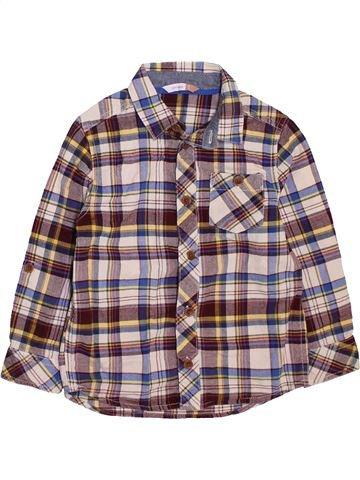 Chemise manches longues garçon JOHN LEWIS gris 5 ans hiver #1469335_1