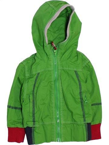 Cazadora niño KIK KID verde 18 meses verano #1469925_1